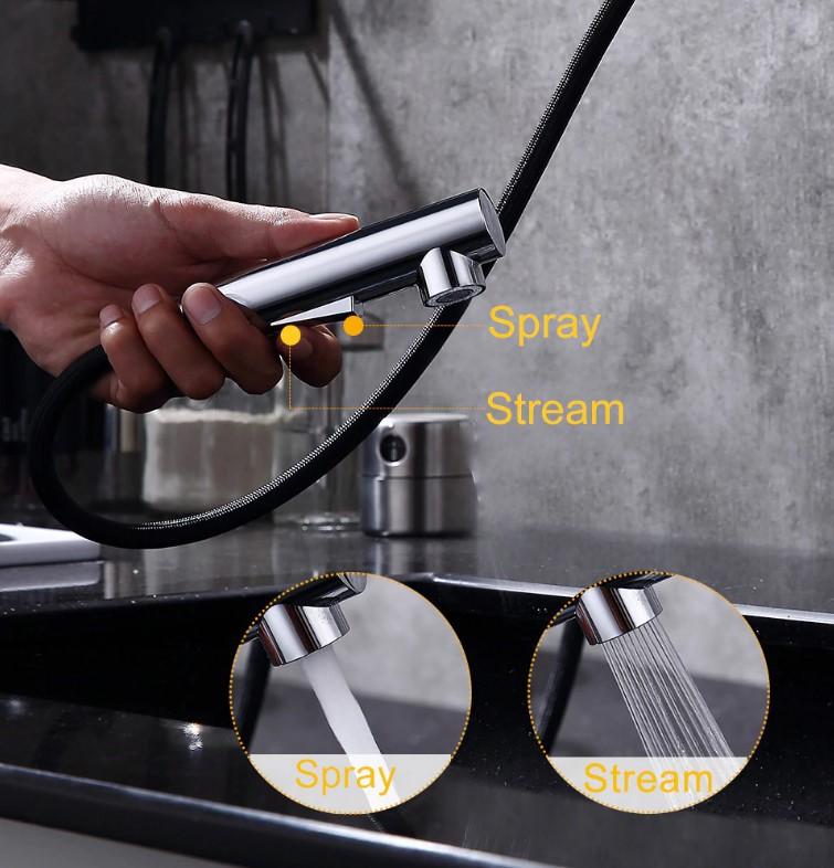 Torneira de Cozinha Monocomando Gavaer Aerador Rotação 360