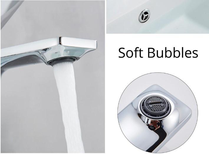 Torneira Design Polonês Banheiro Lavabo Cromada Monocomando