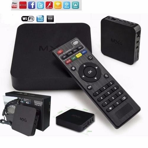 Tv Box Android Google Smart Tv 4K Hd Quadcore Wi-fi Netfix Kodi