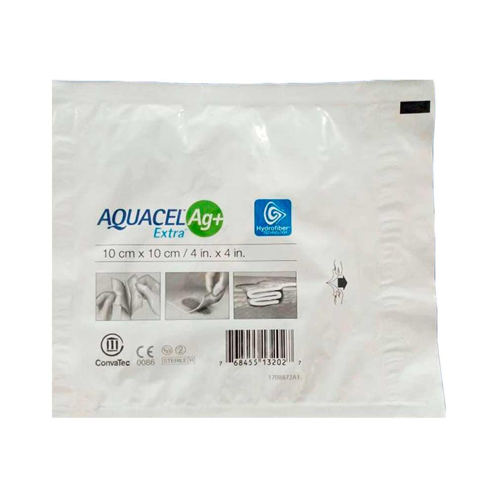 Aquacel extra Ag+ 10 cm x 10 cm Convatec
