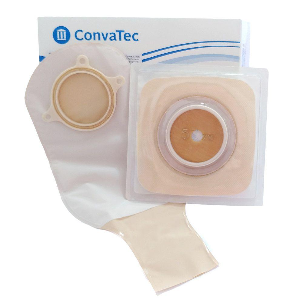 Bolsa e Placa de Colostomia Sur-Fit Plus 57mm Convatec