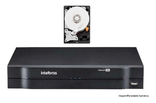 Dvr Intelbras Multihd Mhdx 1104 4ch 5 Em 1 720p/1080n 500gb