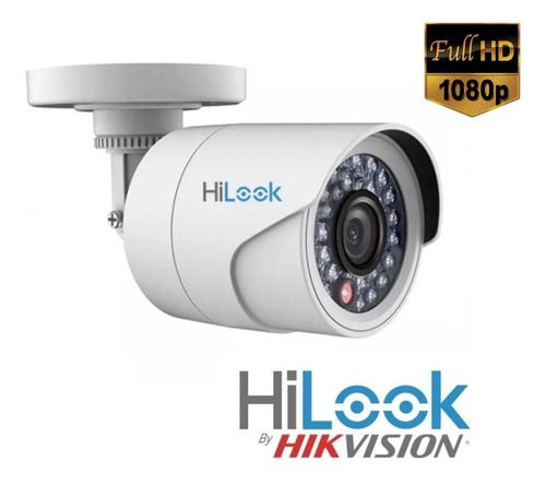 Kit Hikvision 6 Cam Hilook Full Hd 2.8mm+dvr 08ch Turbohd 1t