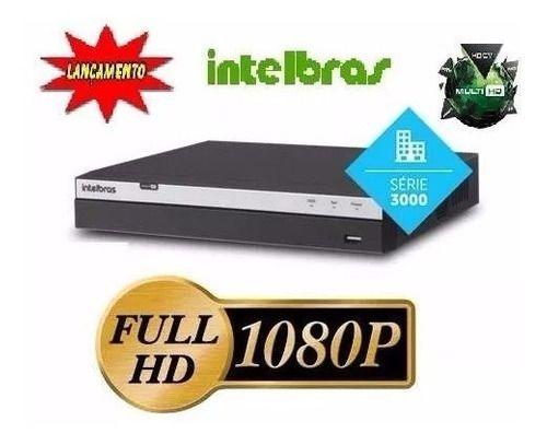 Dvr Intelbras 4ch Mhdx 3104 Full Hd 1080p C/hd Purple 1 Tb