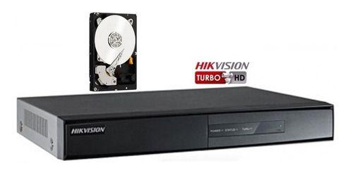 Dvr Hikvision 720p/1080n 08ch Ds-7208hghi C/hd 1tb