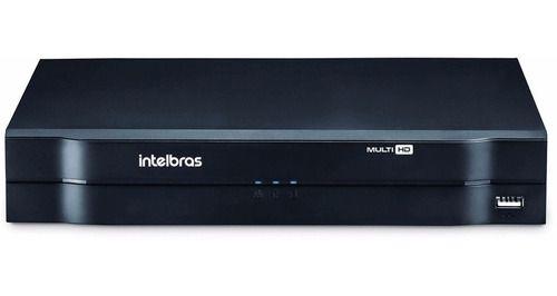 Kit Intelbras 4 Cameras Dome 1010d 720p Dvr Mhdx 1104 H265