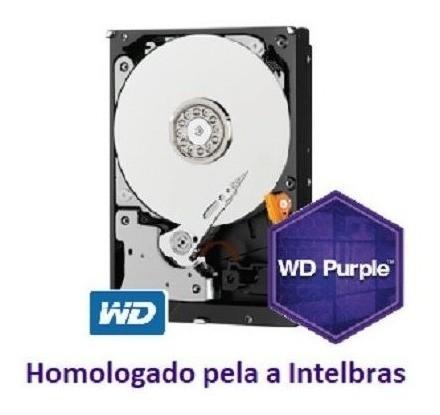 Kit Intelbras 4 Cam Full Hd 3230b G4 Dvr Mhdx 3108 Hd Purple