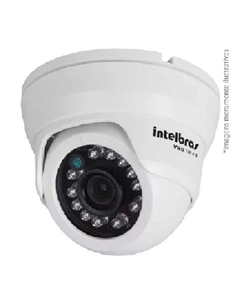 Câmera Dome Infravermelho Híbrida VMD 1010 IR G4 - 3.6mm AHD HD 720p e Analógica 900 Linhas Intelbras