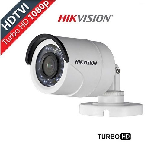 Câmera Infra Bullet Turbo Full HDTVI 1080P 2.0 Megapíxel Lente 3,6mm 20M Metal HIKVISION