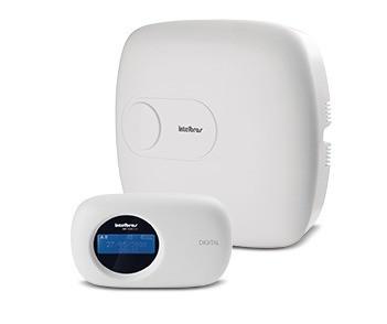 Central Alarme Intelbras Monitorado 18 Z Amt2018eg Teclado