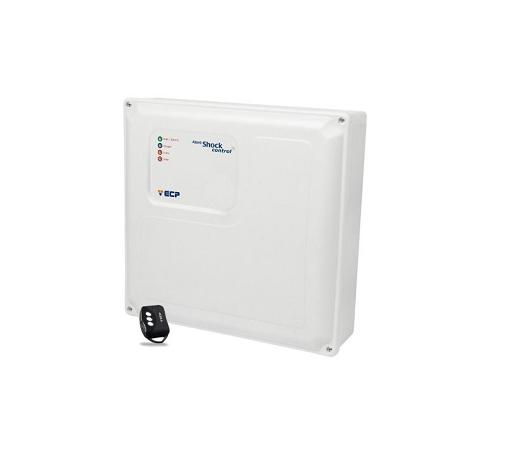 Central Cerca Elétrica Alard Shock Control com 1 setor de alarme Ecp