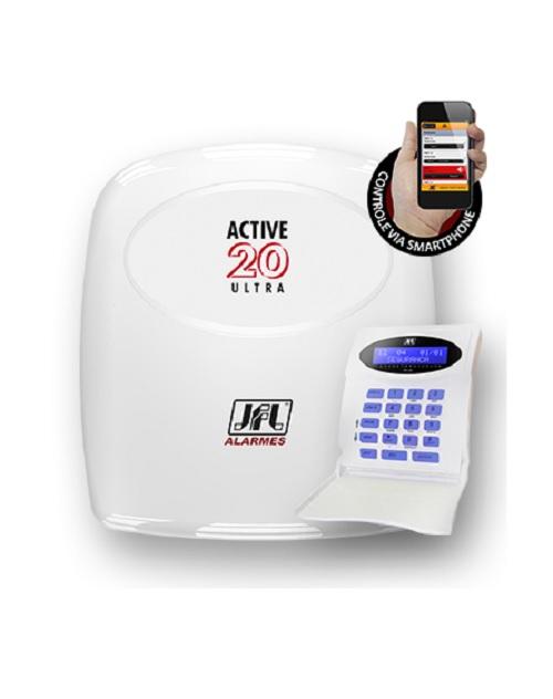 Central de Alarme Monitoravel Active 20 Ultra JFL