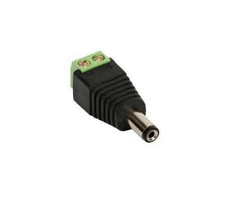 Conector PLUG P4 Macho com borne PAcote com 100 unidades