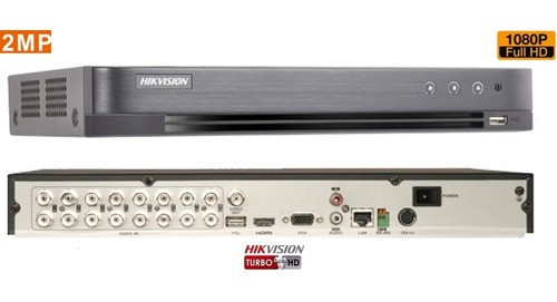 Dvr 4.0 Hikvision Ds-7216hqhi-k2 3mp 16ch Pentaflex C/1tb