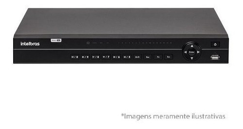 Dvr Cftv Stand Alone Intelbras Mhdx 1132 Multi Hd 32 Canais.