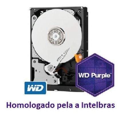 Dvr Gravador Digital Intelbras 04c Mhdx 1104 C/hd Wd Purple 1 Tb Homologado