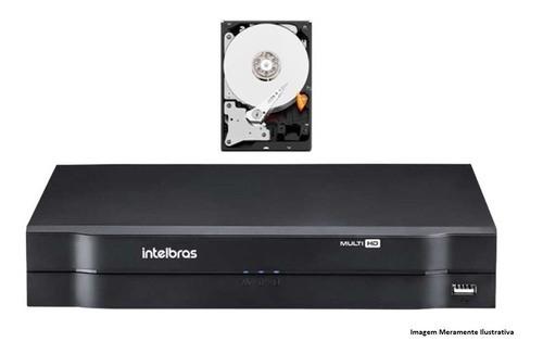 Dvr Gravador Digital Intelbras Multihd Mhdx 1108 08ch E Hd 1 Tb