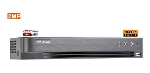 Dvr Hikvision 16 Canais Turbo Full Hd 1080p Ds-7216hqhi-k1