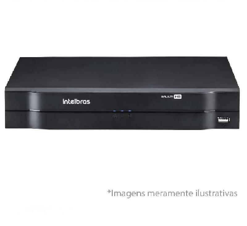 DVR Intelbras Multi-HD MHDX 1104 04 Canais 720P/1080N H265 + HD WD Purple 1TB Homologado