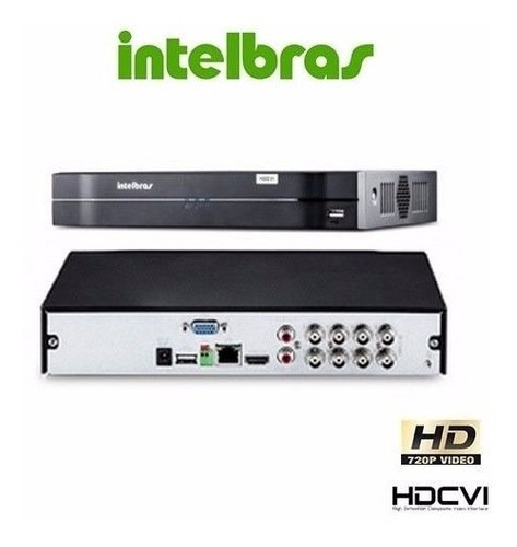 Dvr Intelbras Multihd Mhdx 1108 08ch+ Hd Wd Purple 4tb