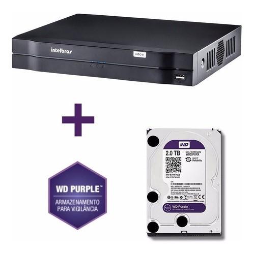 Dvr Multihd Mhdx 16c 1116 5em1 C/hd 2 Tb Purple Intelbras