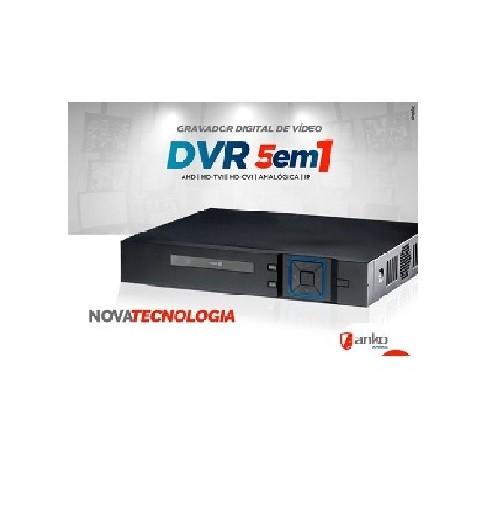 DVR stand alone Flex 5 em 1 XVR 08 Canais 1080N AHD/HDCVI/HDTVI/Analógica/IP Anko