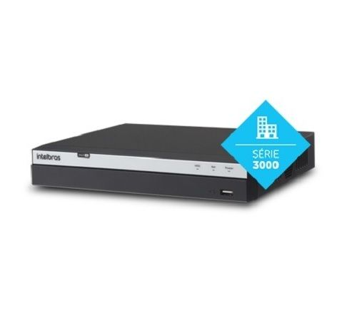 DVR Stand Alone MHDX 3104 04 Canais Full HD 1080p Multi HD + 02 Canais IP 5 Mp Intelbras