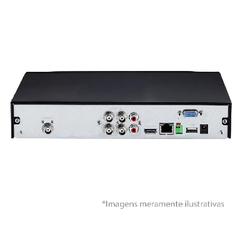 DVR Stand Alone Multi HD  MHDX-1004 - 4 Canais 1080N HDCVI, HDTVI, AHD, ANALÓGICO + 1 Canal 1080N IP Intelbras