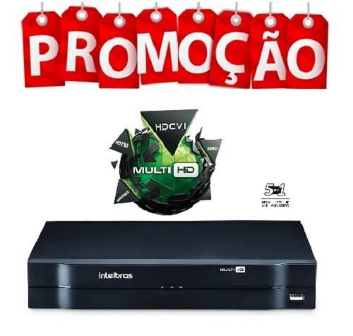 DVR Stand Alone Multi HD MHDX-1008 - 8 Canais 1080N HDCVI, HDTVI, AHD, ANALÓGICO + 2 Canais IP 5Mp Intelbras