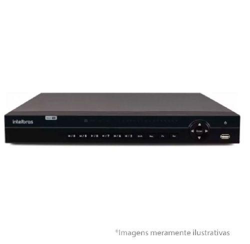 DVR Stand Alone Multi HD  MHDX-1032 - 32 Canais BNC ou 16 BNC + 16 IP - Resolução 1080N HDCVI, HDTVI, AHD, ANALÓGICO C/HD WD Purple 2 TB INTELBRAS