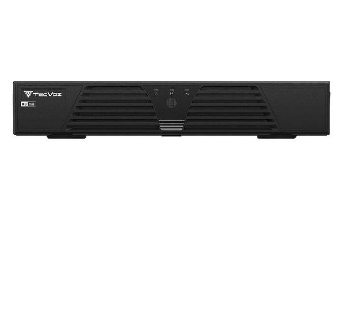 DVR Stand Alone Tríbrido HDTVI  T1-LTVI08 08 Canais 720p Tecvoz