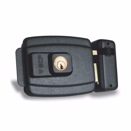 Fechadura Elétrica 12v FX500 P/ Porta ou Portão Com Abertura P/Dentro ECP