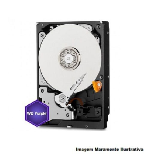 HD Sata  WD Purple 3TB - WD30PURZ Para Vigilancia Western Digital