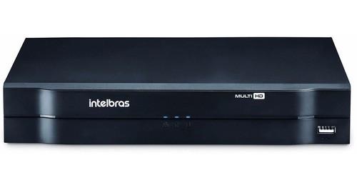 Kit Cftv Intelbras 6 Cameras Infravermelho G4 Dvr Mhdx 1108 08 Canais C/ Hd 1 Tb
