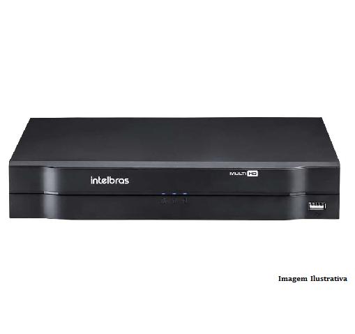 Kit Intelbras 6 câmeras Multi HD VHD 1010B G4 - DVR MHDX 1008 08 canais + HD 1 TB + Acessórios