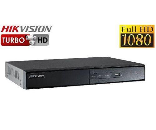 KIT DE CÂMERAS DE SEGURANÇA - 4 CÂMERAS 1080P COM DVR 4CH  HDTVI FULL HD 1080P HIKVISION