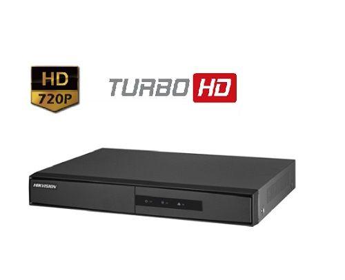 KIT DE CÂMERAS DE SEGURANÇA - 4 CÂMERAS 720P COM DVR 4CH  HDTVI 720P HIKVISION