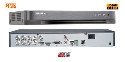 Kit Hikvision 08 Câmeras E Dvr 08ch Fullhd 1080p C/hd 1 Tb