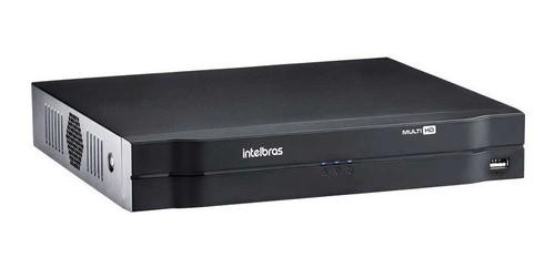Kit Intelbras 4 Cam Vhd 3130b G4 Dvr 4ch Mhdx 1104 C/hd 500g