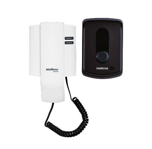 Kit Porteiro Eletrônico Interfone Residencial Ipr 8010 Intelbras