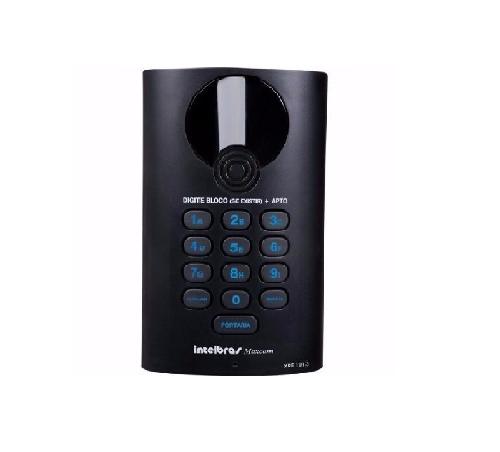 Porteiro Eletrônico 13 Tecla XPE   Para Central de Portaria Comunic 48 Maxcom-Intelbras