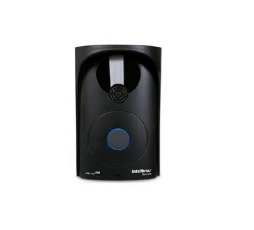 Porteiro Eletrônico 1 Tecla XPE 1001 Plus Para Central de Portaria Maxcom-Intelbras