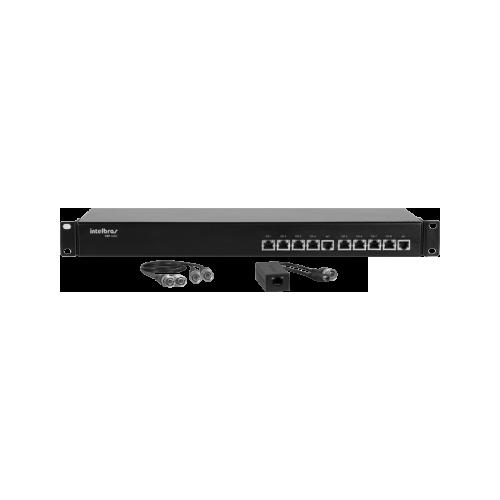 Power Balun Conversor Estático Passivo 08 canais VBP A08C Intelbras