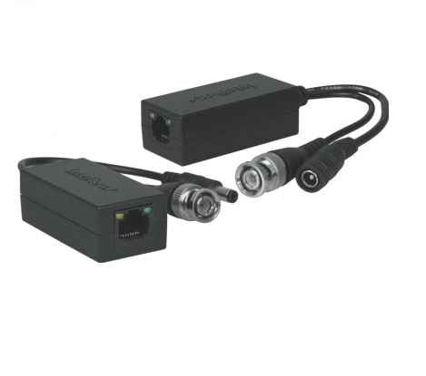 Power Balun Passivo 1 Canal  XBP 502A Analógico HDCVI HDTVI AHD Intelbras