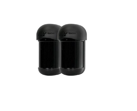 Sensor Barreira Ativa IVA Duplo Feixe 100 Metros - Luxvision