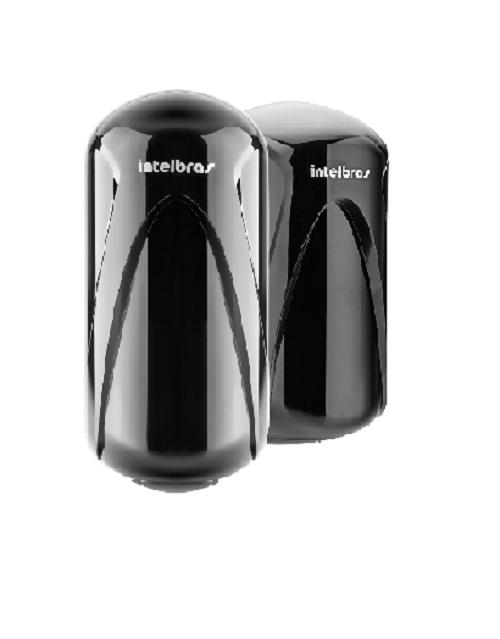 Sensor de Barreira Ativa Feixe Duplo Com Fio Intelbras IVA 3110 X