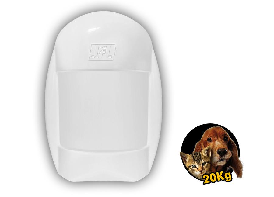 Sensor Infravermelho Passivo Pet 20kg Idx-2001 Com Fio Jfl
