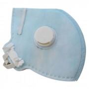 Máscara Respiratória PFF2 S Descartável com Válvula Carbografite CG431V