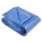 Lona em Polietileno trançado azul 5x3 BelTools Anti-UV 150 micras