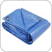 Multilona Anti-UV 200 - Lona em Polietileno trançado azul 6x3